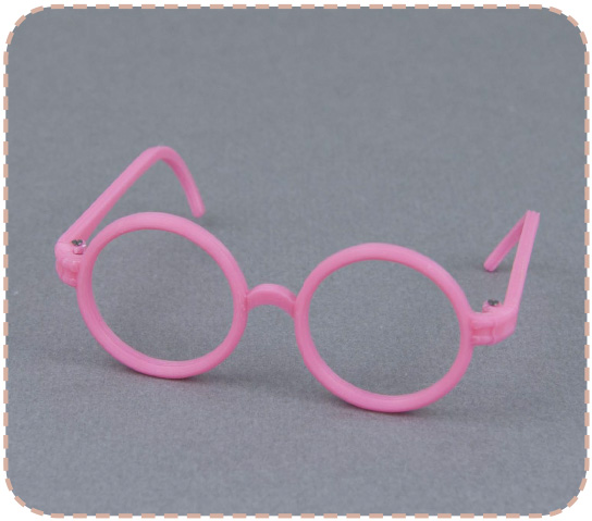 Round glasses for Pullip