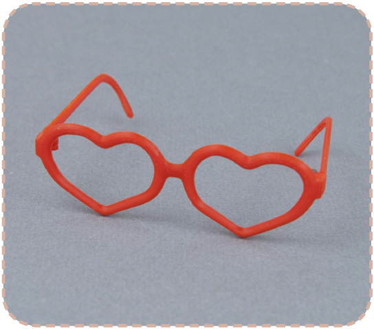 Heart glasses for Pullip