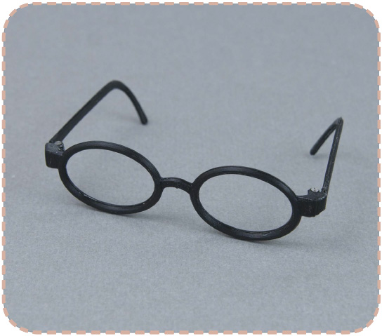 Oval glasses for Pullip