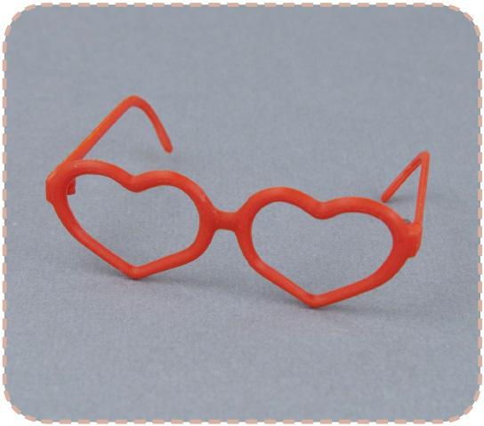 Heart glasses for Pullip