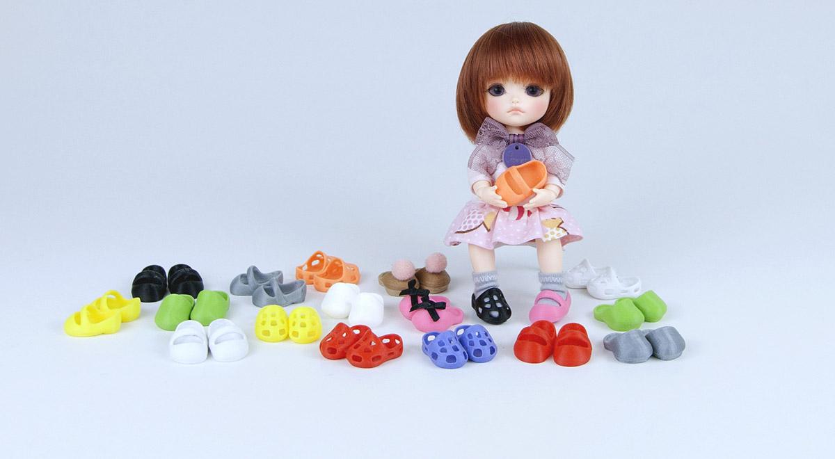 Chaussures pour poupées BJDs Lati Yellow Pukifee